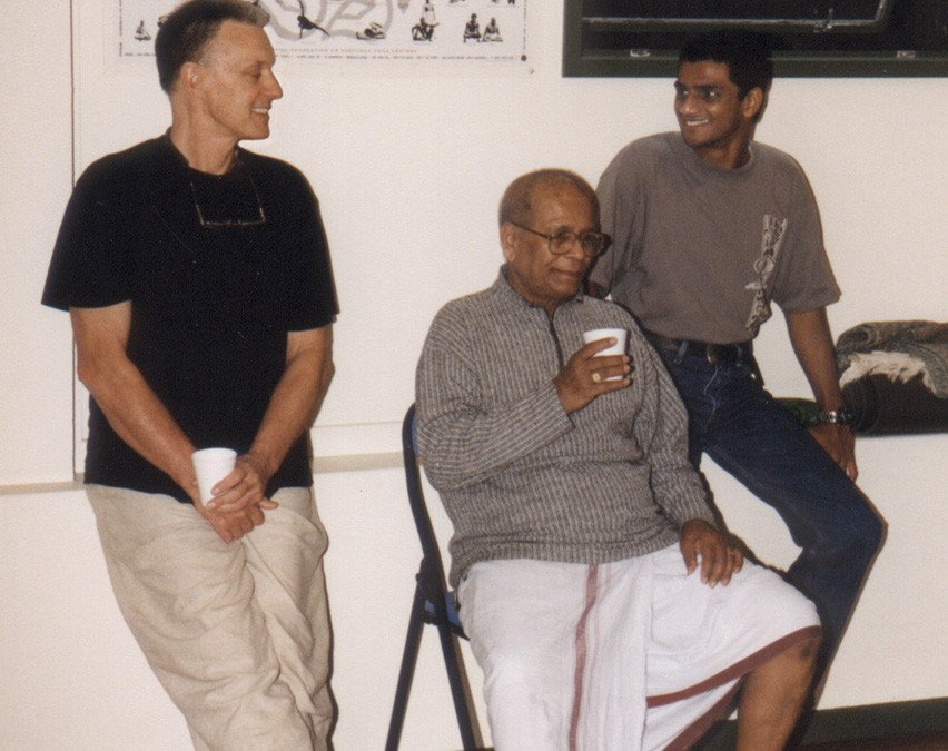 SRI K.  PATTABHI  JOIS  INTENSIVE  November  2002 by  Bernadette  Rae: