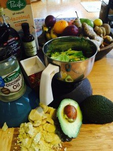 avacado pudding ingredients blog image