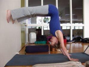 half handstand