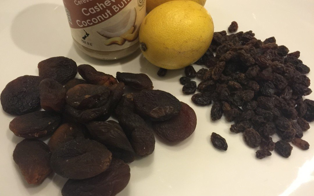 Lemon Zest and  Coconut Cashew Bliss Balls – a winter treat