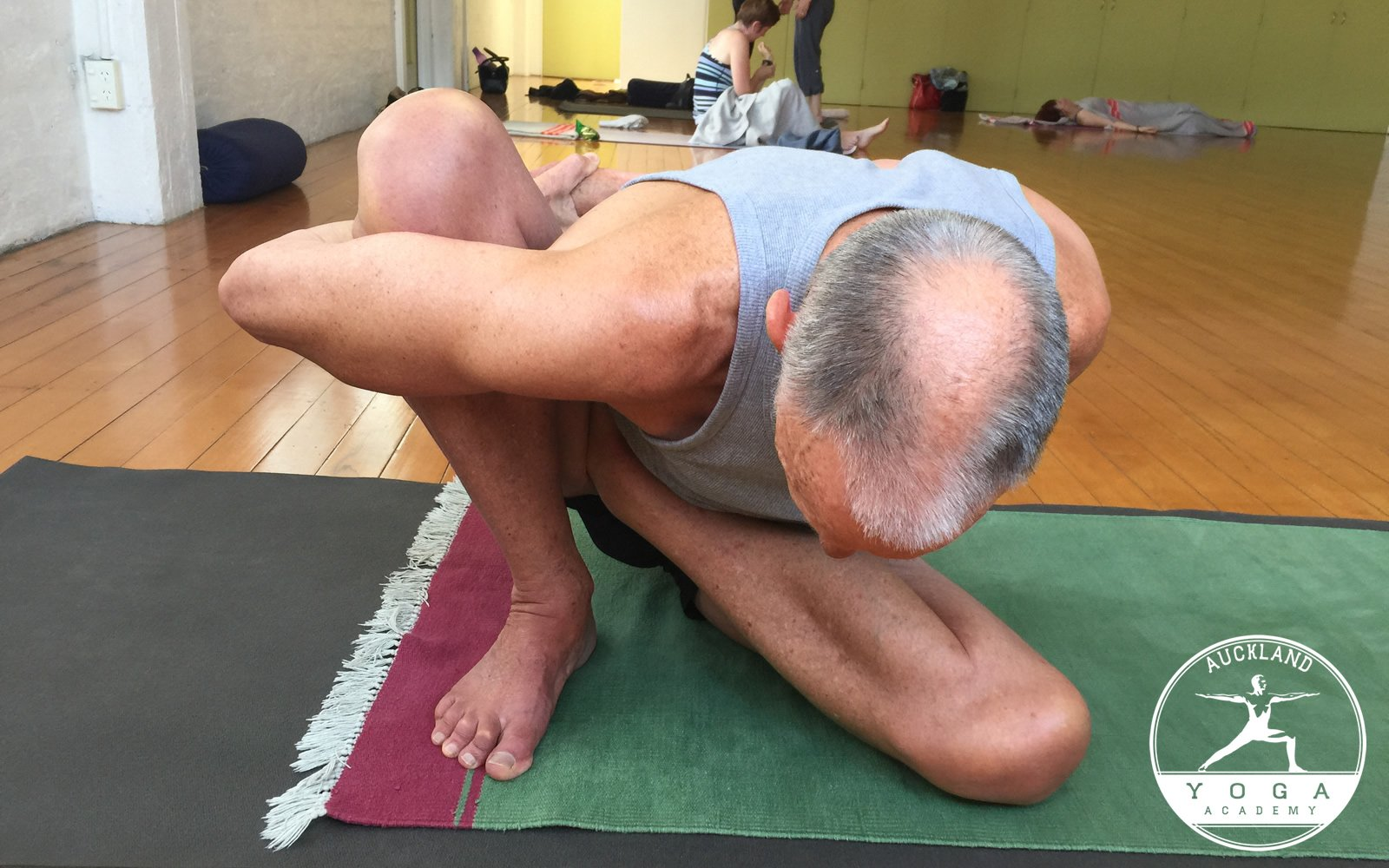 Peter in Marichyasana B (Posture of Marichi)