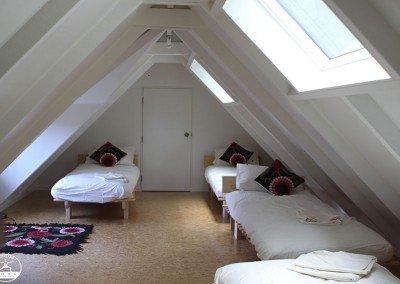 Marae-style sleeping loft